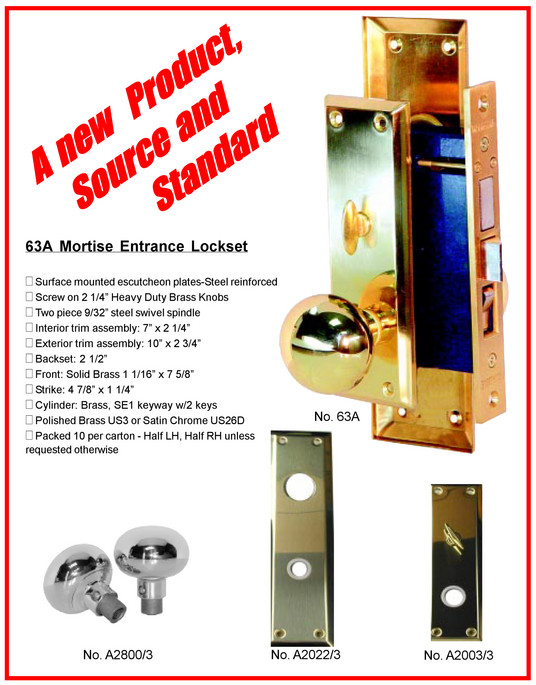 Door Hardware Progressive Hardware Co Inc Mortise Lock