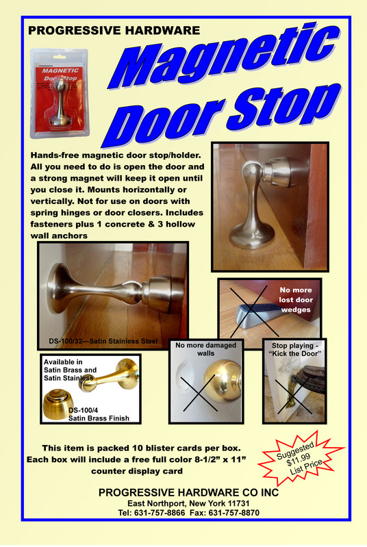 Door Hardware Progressive Hardware Co Inc New Products